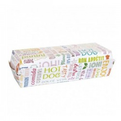 CONCHA HOT DOG PAROLE 23.5X9X6 CM P.50