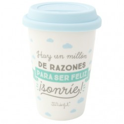 TAZA TAKE AWAY HAY UN MILLON 33 CL (MR WONDERFUL)