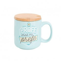 TAZA PROFE ERES MI PREFE (MR WONDERFUL)