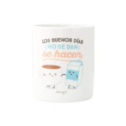 TAZA BUENOS DIAS NO SE DAN (MR WONDERFUL)