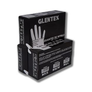 GUANTES DESECHABLES NITRILO NEGRO (GLENTEX)