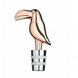 TAPON BOTELLA ROSE GOLD TOUCAN (BARCRAFT)