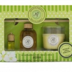 ESTUCHE NATURAL & FRAGRANCES JAZMIN