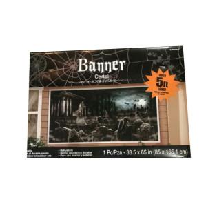 BANNER CEMENTERIO 165X84 CM