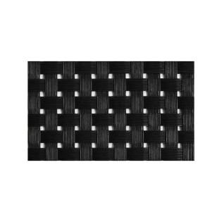 MANTEL INDIVIDUAL PVC NEGRO TRITON 45X33 CM (VIEJO VALLE)