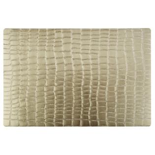 MANTEL INDIVIDUAL PVC GOLD 45X30 CM (APS)