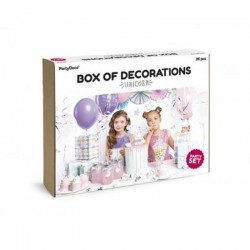 KIT DECORACION UNICORNIO 35 PZ