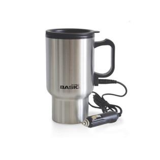 MUG TRAVEL ELECTRICA CARGADOR 400 ML (HOME BASIC)